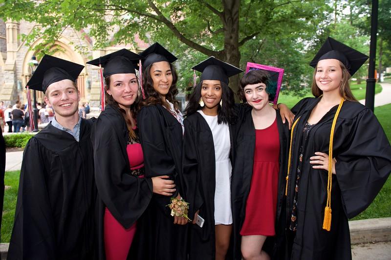 Charter Arts graduation 2015